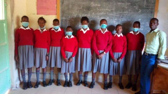 8th graders at akili school
