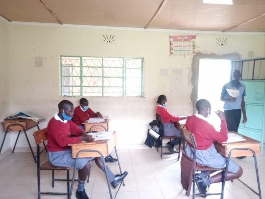 Akili Girls in Class
