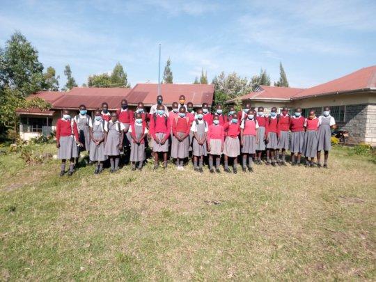 Akili girls back to school