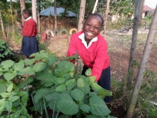 gardening at akili school