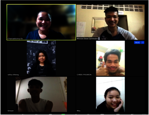 Growth Group meeting online