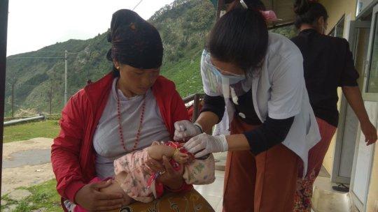 Children's regular immunization by PHASE