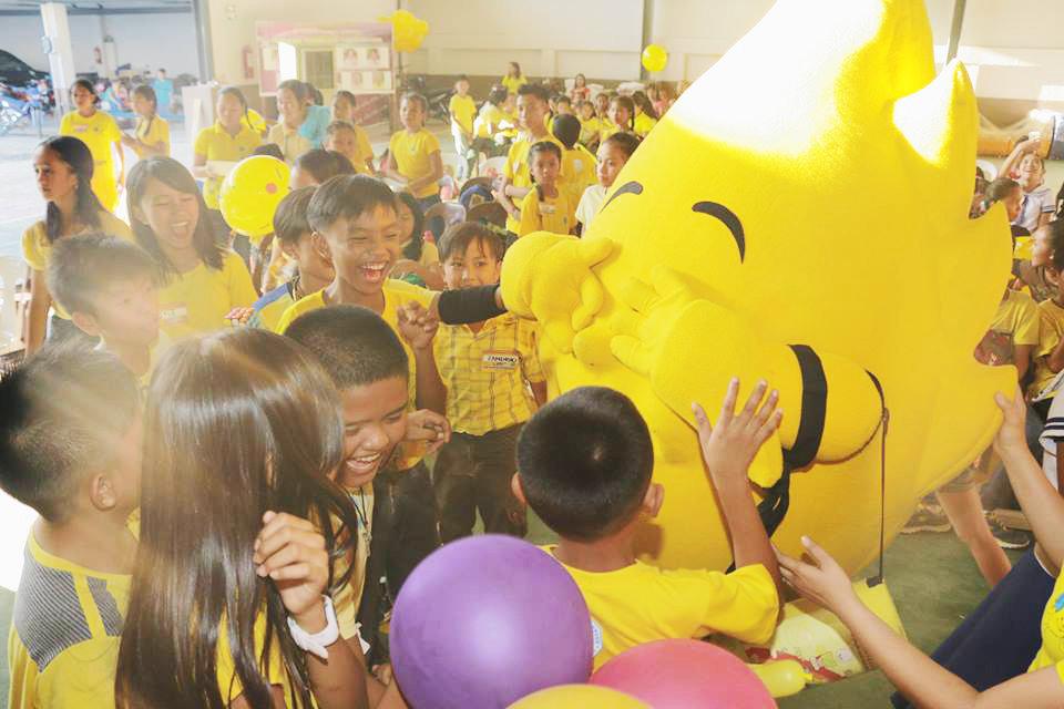 Youth Savers having fun with Aflatoun!