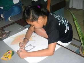 kids express themselves through art