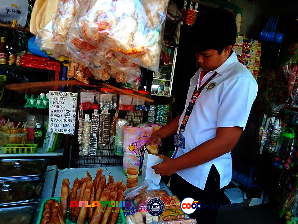 Michael sells turon in his school and makes profit