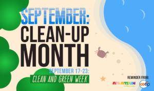 September: National Clean-Up Month
