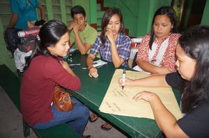 Teachers brainstorming on Saving & Spending