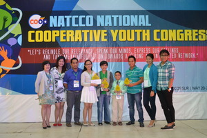 Winners with the NATCCO Youth Committee