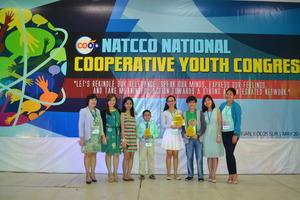 Winners with the Aflatoun Secretariat