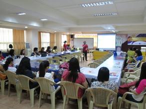 Aflatoun Teachers' Training with SAMULCO