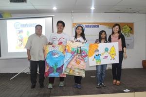 Children's creativity showcased in poster making