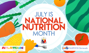 July is National Nutrition Month