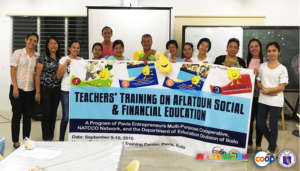 Aflatoun Teachers from Iloilo