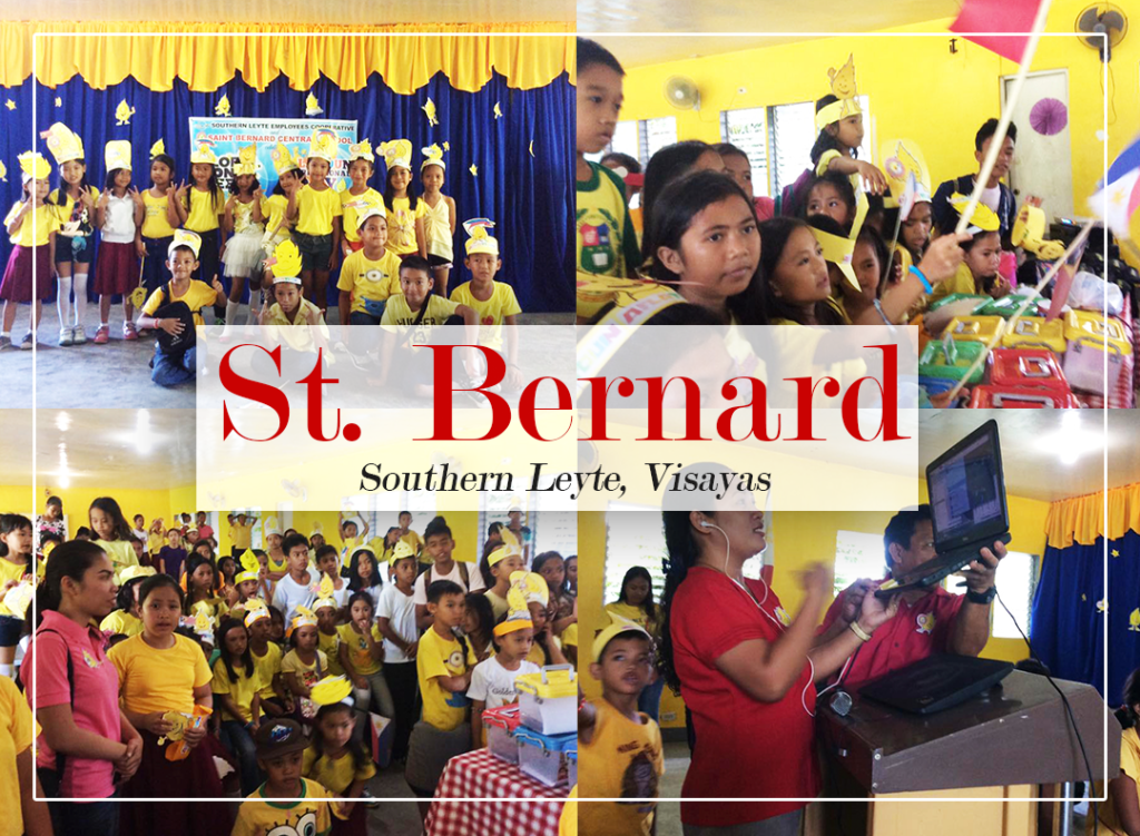 St. Bernard savers celebrating for the first time!