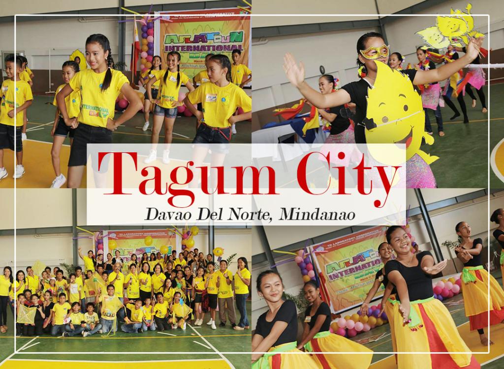 Festive mood in Tagum