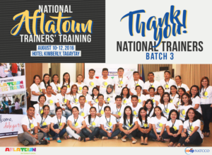 Thank you, 3rd Batch of National Trainers!