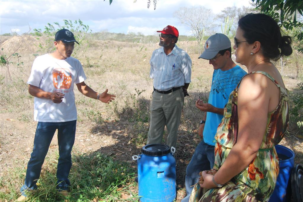 Post-forum field visit to Adapta Sertao project
