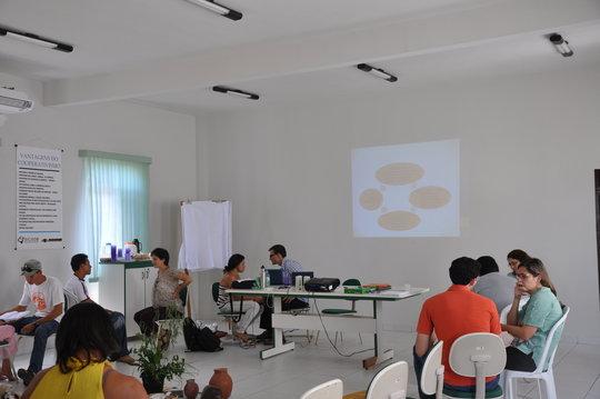 Group meetings with local educators in Pintadas