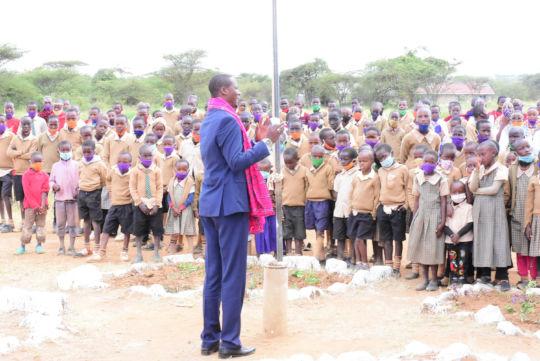 Hon. Martin Moshisho Martine Deputy Governor