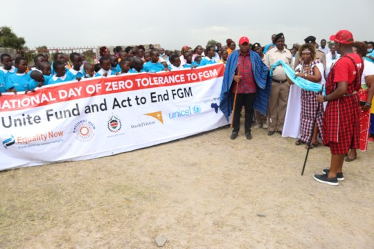 Launch of Zero Tolerance against FGM Day