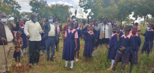 Day of Education Tree Planting