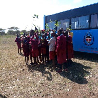 Tree Planting at Noosidan Primary School