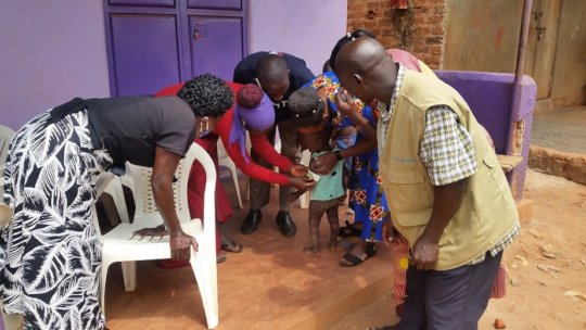 Village Health Workers screen for malnutrition