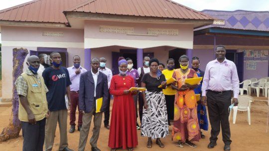 CFU Trained Village Health Workers