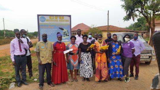 Trained CFU VHTs and Facilitators