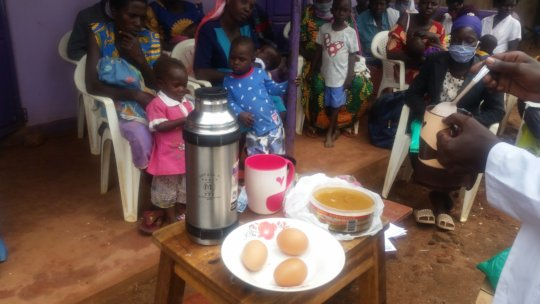 Preparing Nutritious Meal for a Child at Home