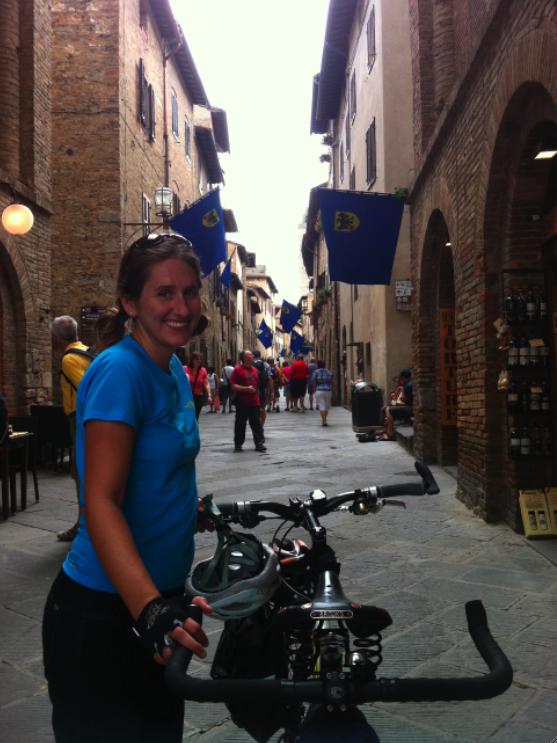 Katy in Italy!