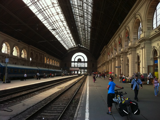 Bikes and Trains Mix Well!