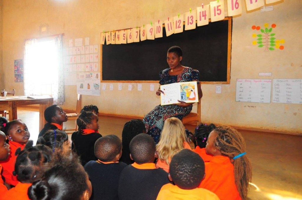 BeeHive Teacher Enthralls Her Students