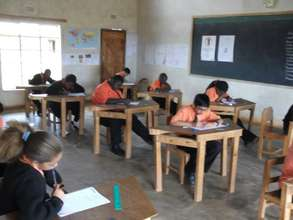 Standard 7 on the last day of examinations