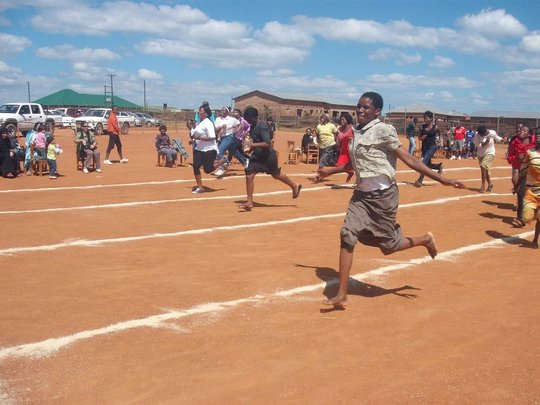 Teachers Race on Sports Day