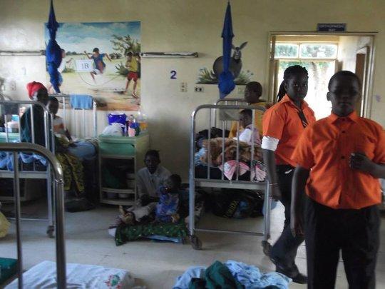 In the Mzuzu hospital