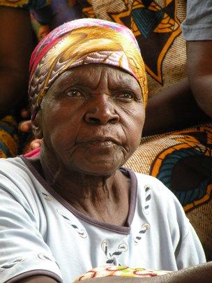 grandmother at Chikumbuso