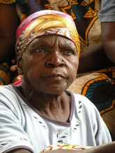 grandmother at Chikumbuso