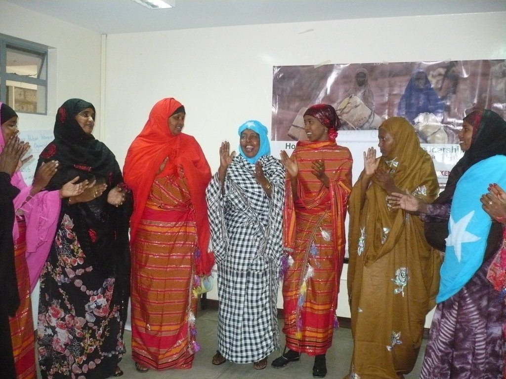Equip 50somali women with Peace leadership skills
