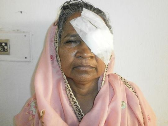 Fardiaben is full of joy after eye surgery