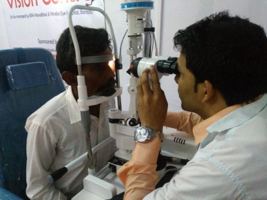 New Operation Theater and Low Vision Center