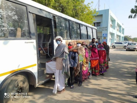 Patients Travelling back after Surgery
