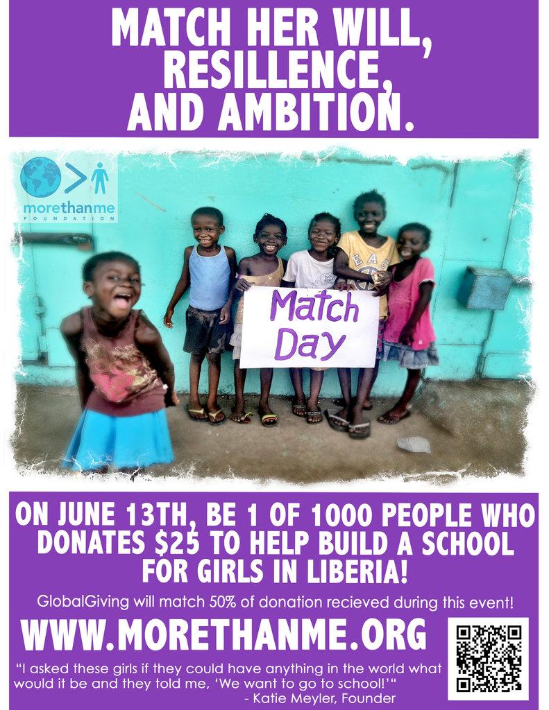 Help build a school for Agnes
