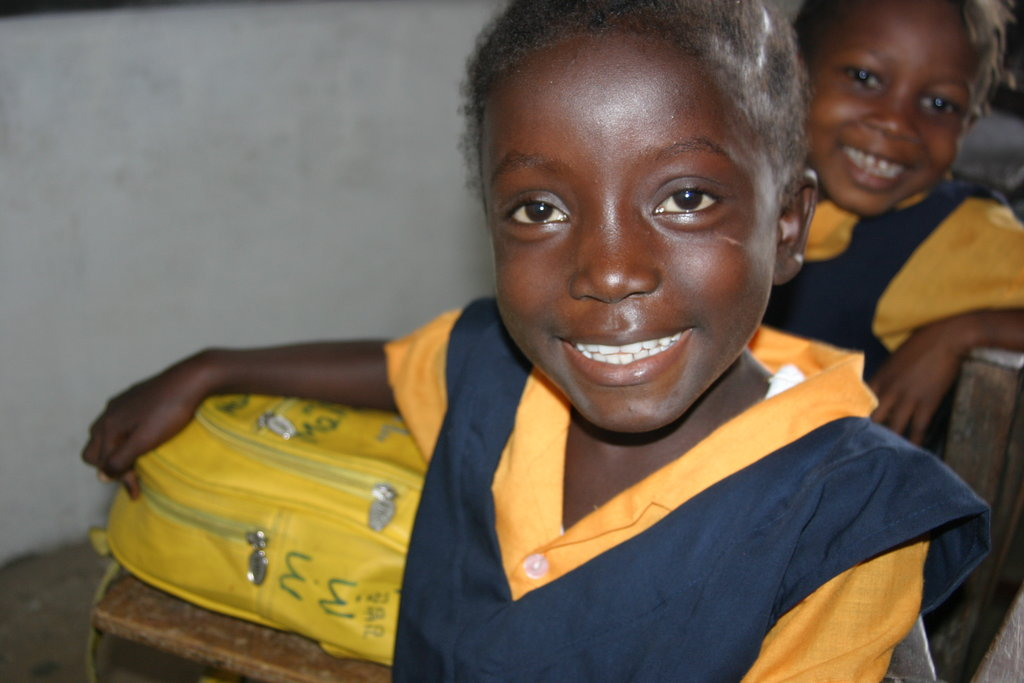 500 Girls off the Street & Into School in Liberia.
