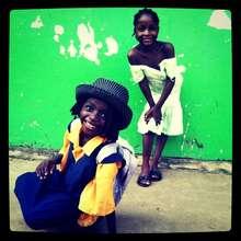 Morrisline & Henriette are in School!