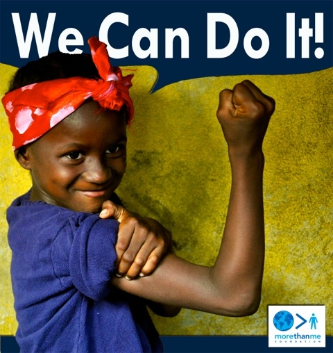 """In a country where 70% of out of school children are girls Agnes says, """"""""I can do it!"""""""""""