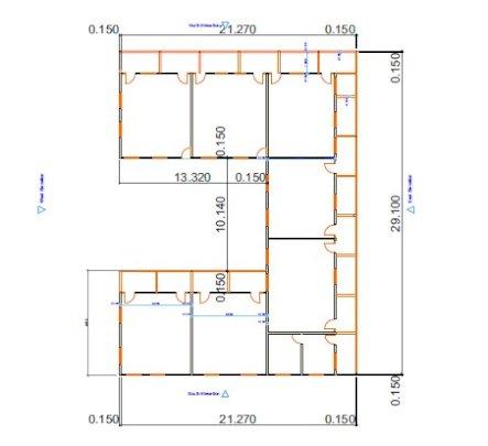Construction plan U-Block