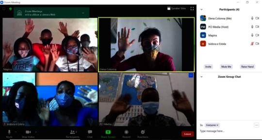 Virtual Training Workshop with PCI Team Members