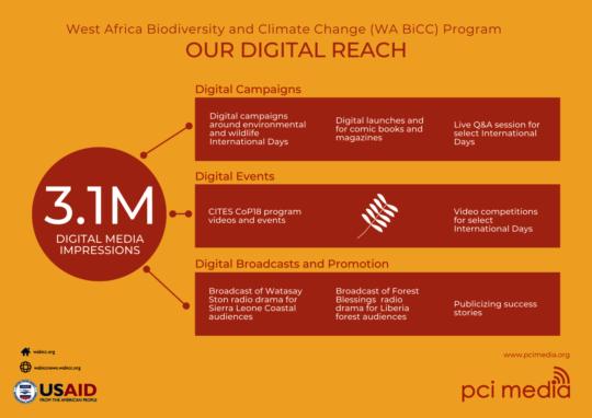 Digital Reach Infographic