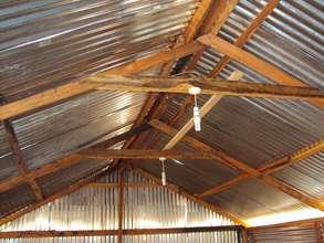 Solar lighting in classroom